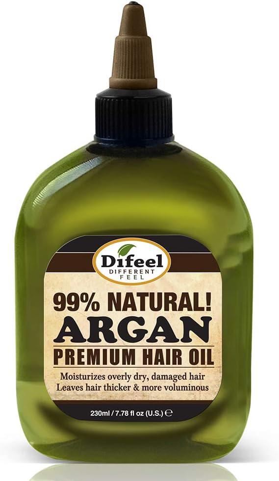 difeel Premium Natural Aceite de Argán Aceite de pelo–235ml