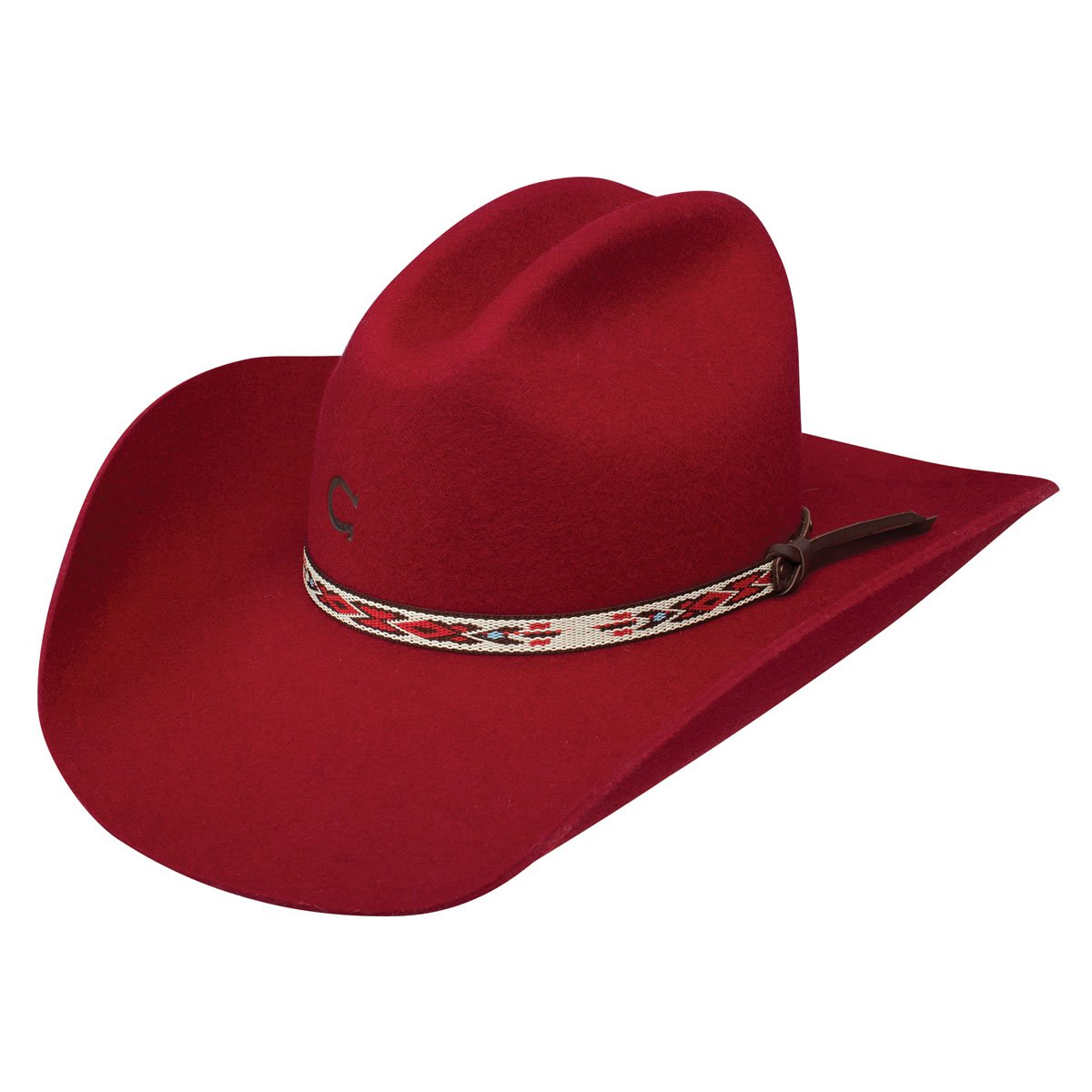 Charlie 1 Horse Red Rider Ladies' Hat (7)