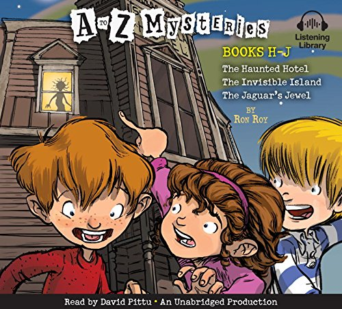 A to Z Mysteries: H-J (the Haunted Hotel, the Invisible Island, the Jaguar's Jewel [Unabridged] pdf epub