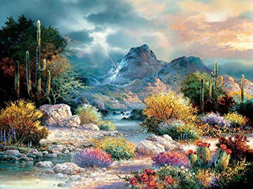 Springtime Valley a 1000Piece Jigsaw Puzzle by Sunsout Inc. by SunsOut