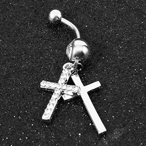 Fashion_Style_Coincide_Cubic_Zircon_Cross_Navel_Ring_Body_Piercing_EM
