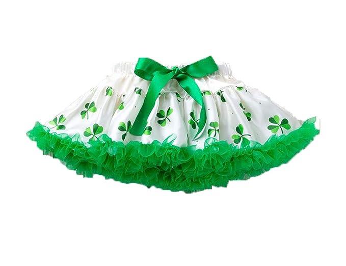 Día de San Patricio] Falda Tutú Verde de Ballet para Niñas ...