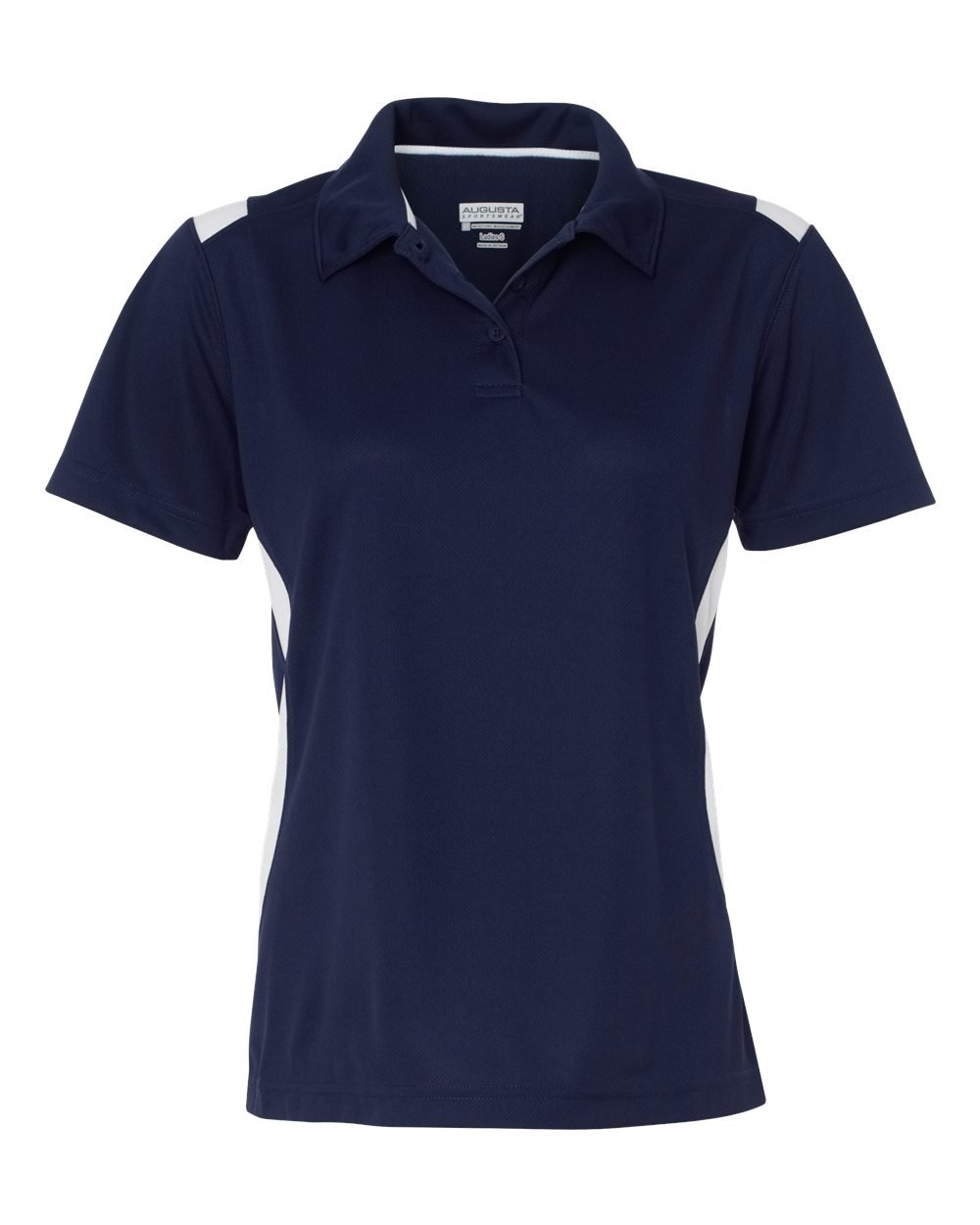 Augusta Ladies' All-Conference Sport Shirt S NAVY/WHITE