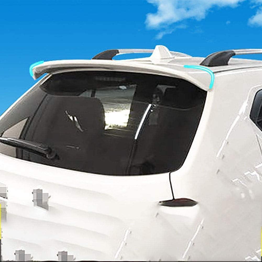 Blanco Negro TBJDM Spoiler Trasero Spoiler de Material ABS de port/ón Trasero Adecuado para Suzuki Ignis 2017-in
