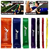 Ballistic Bands – Strength – Assisted Pull Ups – Power Squats – Cross Training Resistance Bands -Official Kbands Training (7 Pcs – Advanced, One Bag)