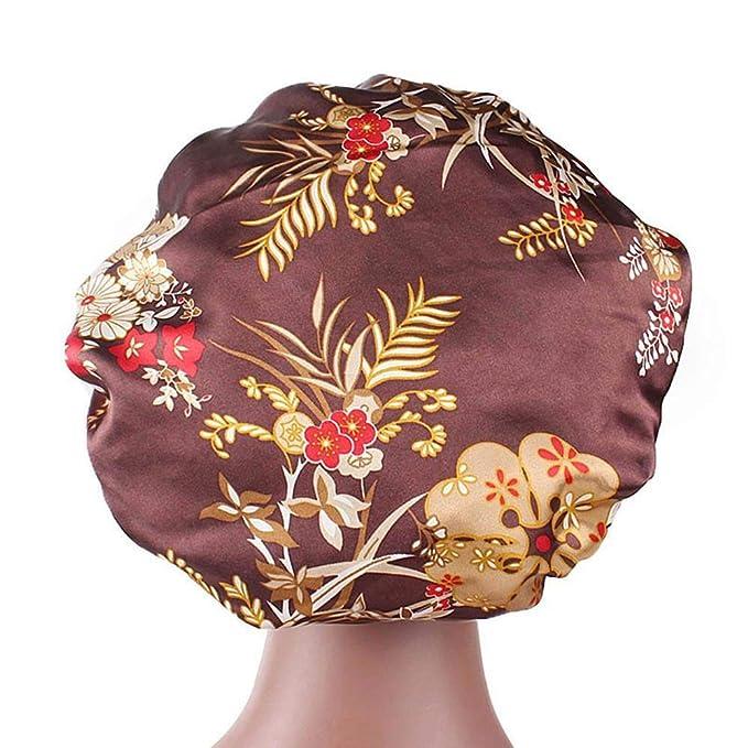 Frauen Hüte Damen Kopfwickel Hüte Freie Größe Kopftuch Elastisch Turban