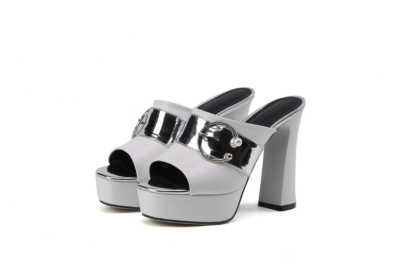 Sandales pour Sandales Femmes, Talons Hauts, pour Pantoufles Pantoufles Blanc 95349ce - gis9ma7le.space