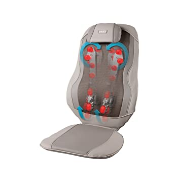 Amazon.com: HoMedics Shiatsu Triple con calor, ninguno ...