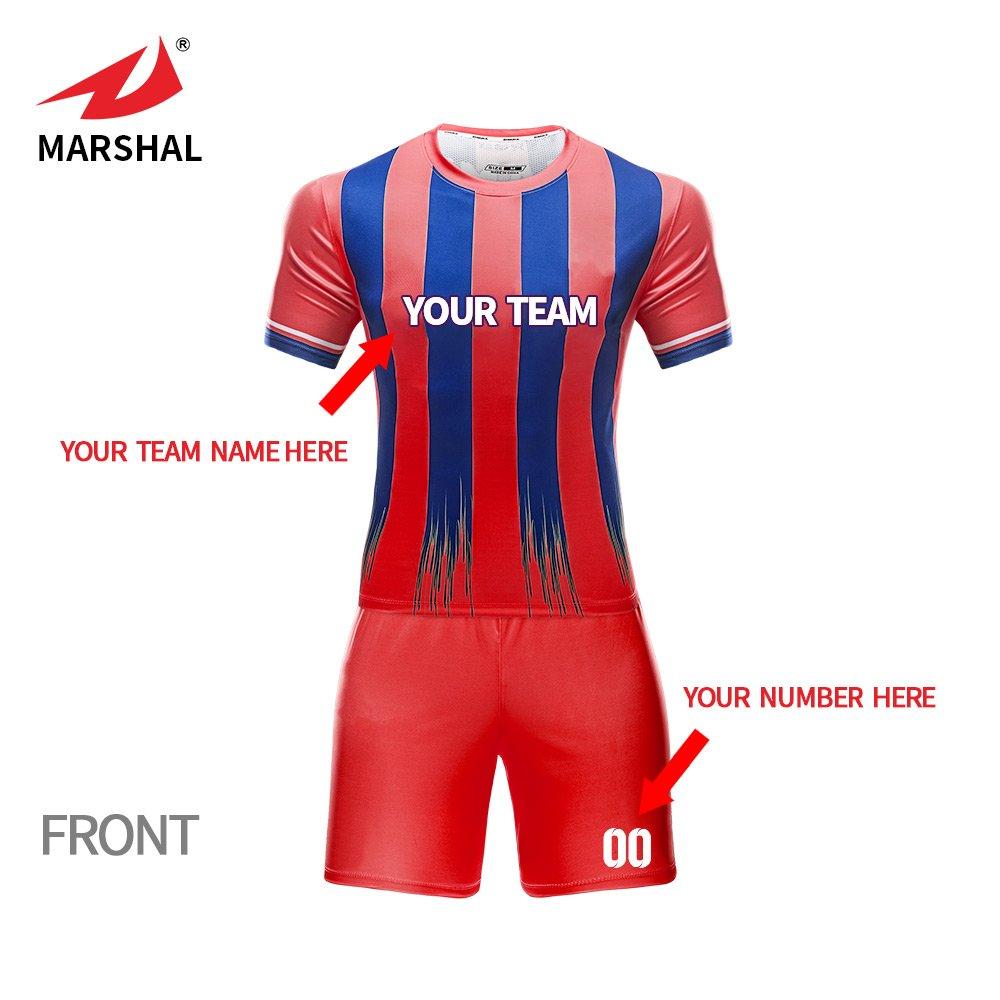 25e8e0db531 ZHOUKA Football shirts breathable uniform custom soccer kit soccer jerseys  football shirt soccer jersey: Amazon.co.uk: Sports & Outdoors