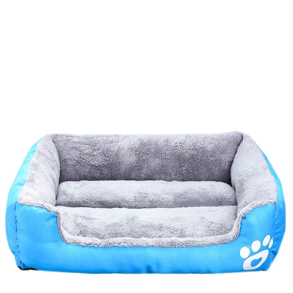 HeiPlaine Pet Sofa Pet Supplies Candy-colord Teddy Pets Small And Medium-sized Dogs Dog Bed Cat Litter golden Retriever Dog Kennel,Multi-colord-L