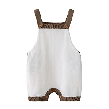 48c7d751a742 Image Unavailable. Image not available for. Color  Auro Mesa Newborn Baby  Knitted Romper ...