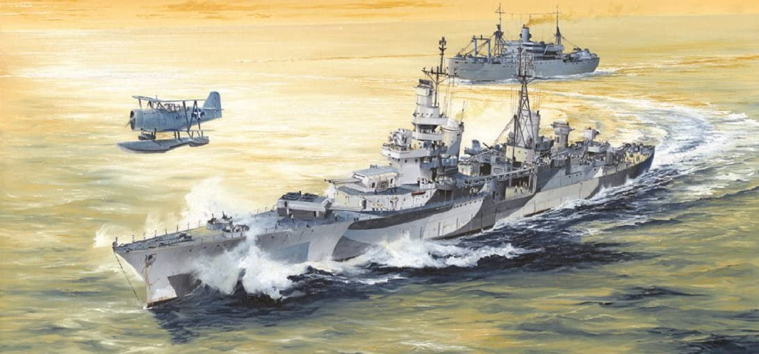 Trumpeter USS Indianapolis CA35 Heavy Cruiser 1944 (1/350 Scale)