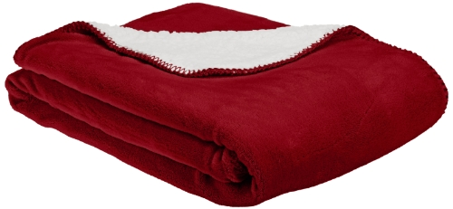 (American Kennel Club Pet Throw, Red)