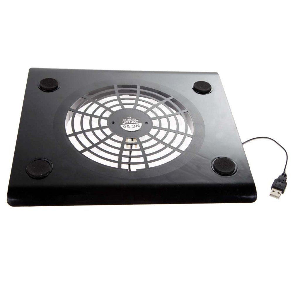 Low Noise USB Notebook Cooler Cooling Laptop Cooler Pad 1 Big Fans for Laptop PC Base Computer Cooling Pad Strengthen