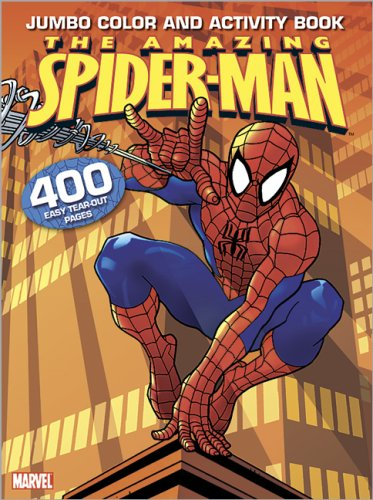 Spider-Man Color & Activity Jumbo