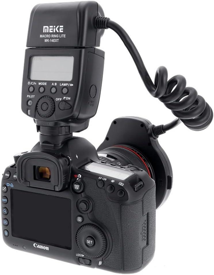 Meike Macro Ring Lite Flash Light for Canon EOS 5D Mark II EOS 6D EOS 7D EOS 70D EOS 60D EOS 60Da EOS 700D 650D 600D 400D 350D