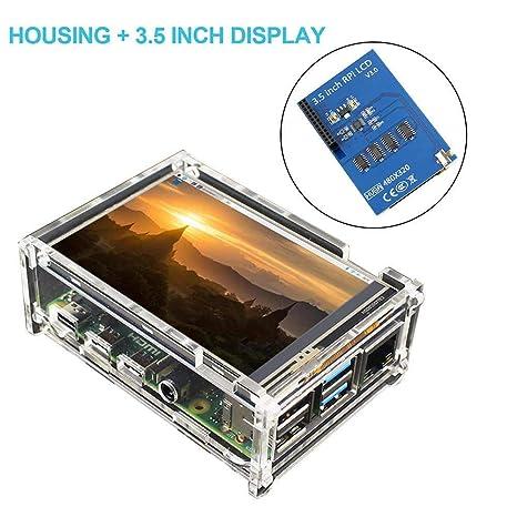 Ritapreaty Monitor de Pantalla táctil MHS LCD de 3,5 ...