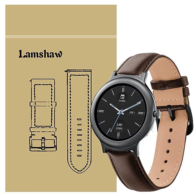 lamshaw Smartwatch Bandas LG Reloj Estilo, Nueva Silicona Deporte ...