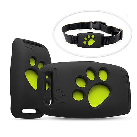 SZFY-TAIOW - Mini rastreador GPS para mascotas - Dispositivo de seguimiento inteligente antipérdida - Localizador para perros y gatos ...