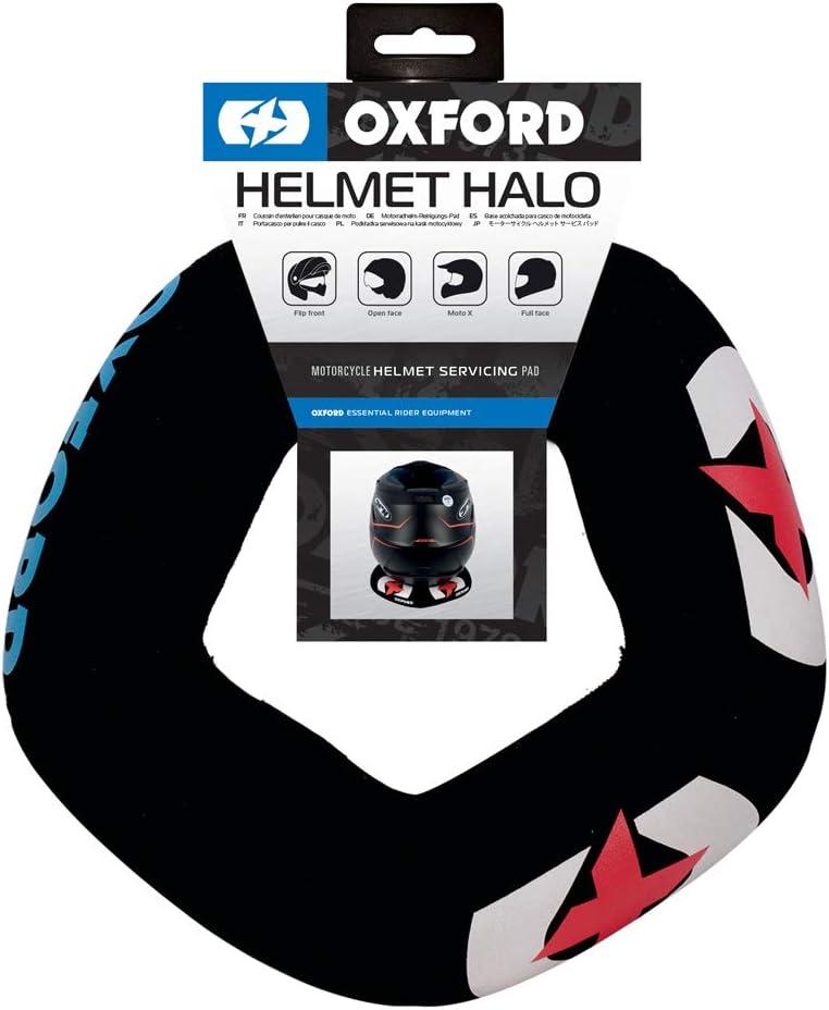 Oxford 2015Helmet Halo Soporte para Moto Casco, facilita la Limpieza