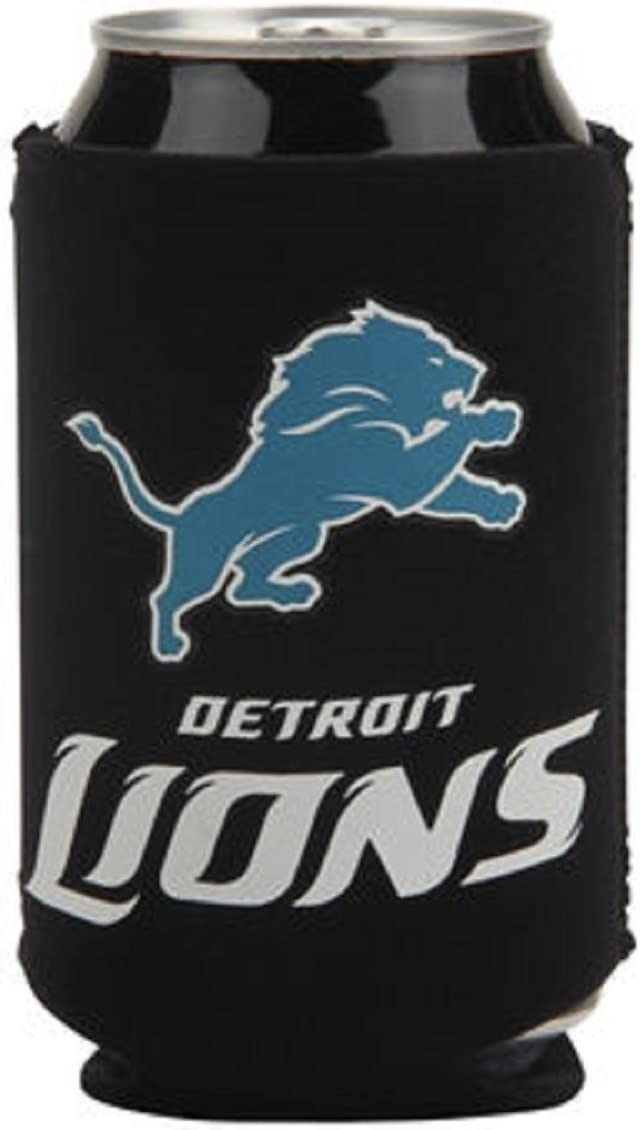 Detriot Lions NFL Can Cooler