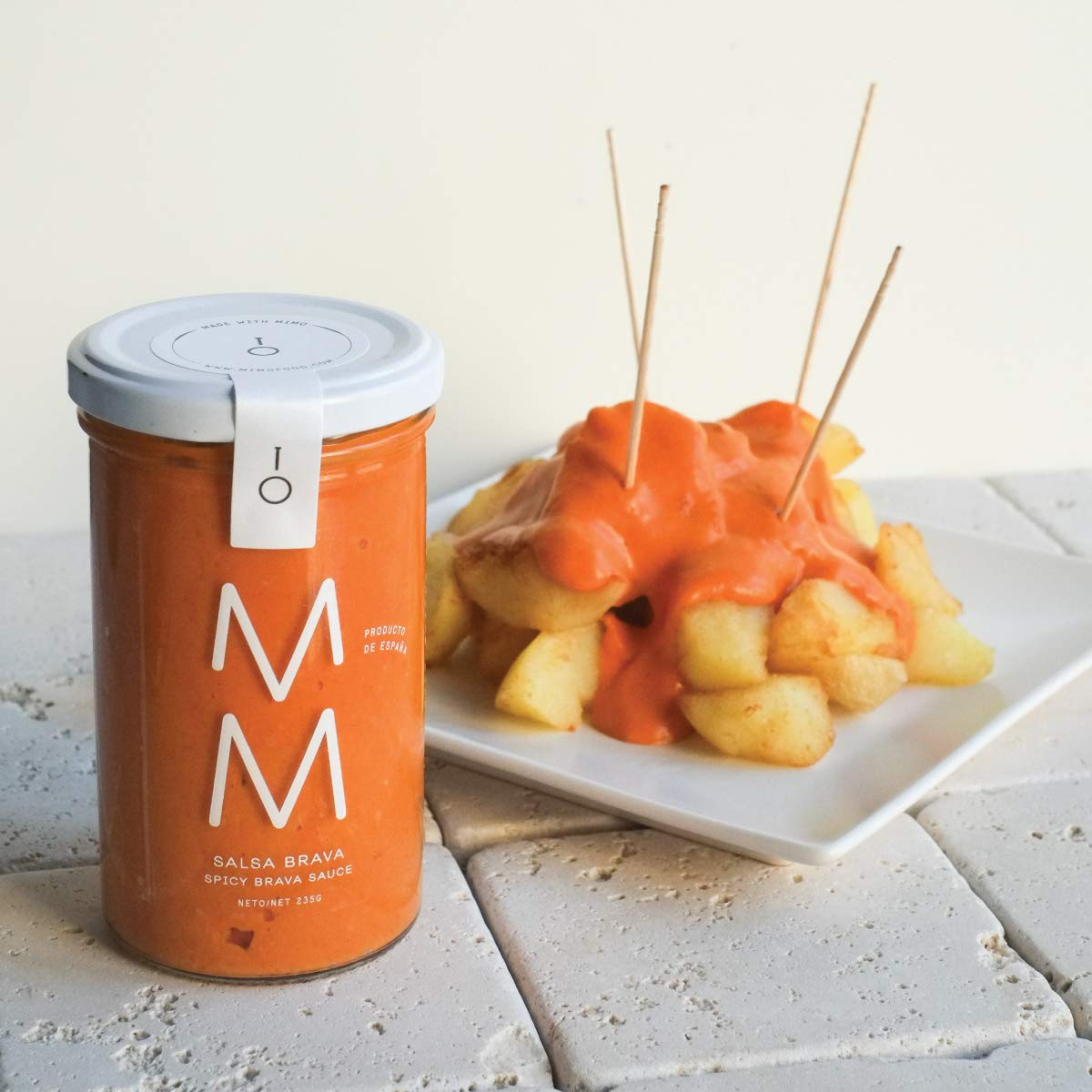 MM All the Salsa Gift Box | Spanish Artisan Food Collection: Amazon.com: Grocery & Gourmet Food
