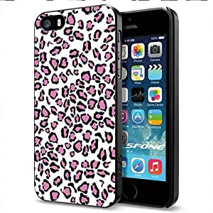 Leopard Love Apple Smartphone iphone 5c Case Cover Collector Black Hard Cases