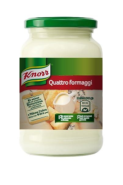 Knorr - Salsa Pasta Cuatro Quesos, 400 g
