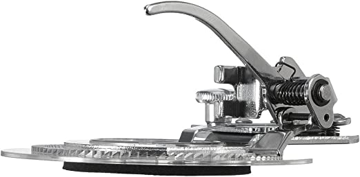 TOOGOO(R) Prensatelas de maquina de coser aguja de flor margarita ...