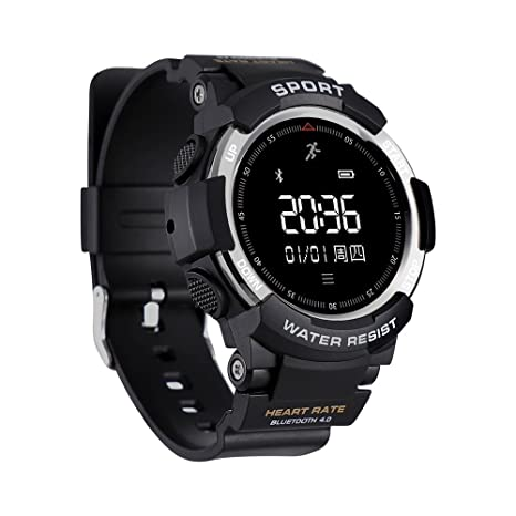 Amazon.com: F6 Bluetooth Smart Watch IP68 Waterproof Sport ...