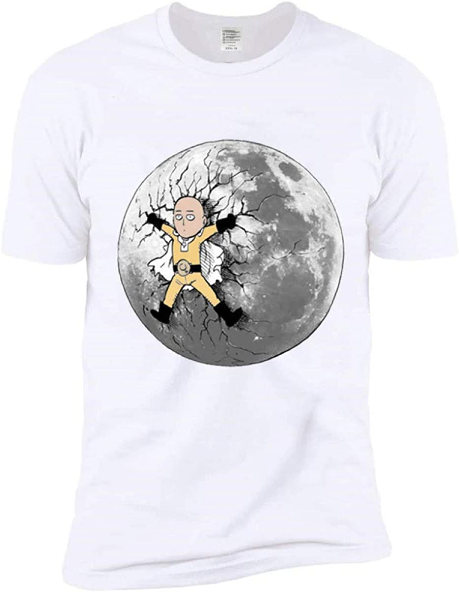 FLAMENCO_STORE Anime One Punch Man Printed Men T Shirt Cool Men Tshirt Casual T-Shirt for Men: Amazon.es: Ropa y accesorios