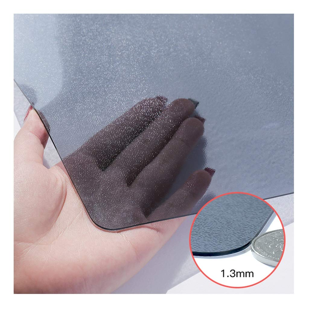 ラウンドテーブルクロス 80 * 150センチメートル、pvcテーブルクロス防水と耐油性のテーブルクロス無臭、非変形ソフトプラスチックコーヒーテーブルクロス(厚さ1.3 mm) テーブルクロス (色 : C)  C B07RZLVJ5J
