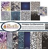 #3: Ella & Viv by Reminisce Princess Cut Diamonds Scrapbook Collection Kit