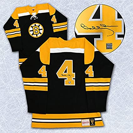 new products 384dd 640ea Bobby Orr Boston Bruins Autographed Retro Mitchell & Ness ...