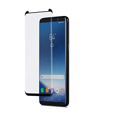 huge selection of bdfbe 91053 Amazon.com: Moshi ionGlass Screen Protector for samsung Galaxy S9+ ...
