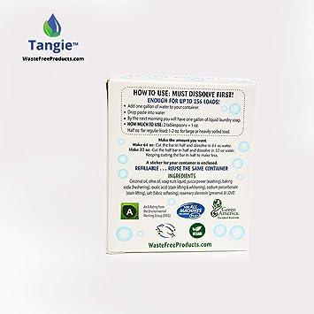 Jabón de lavandería rellenable barra de detergente: Amazon.es ...