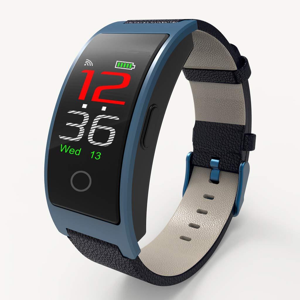 CK11C 0.96inch Screen Heart Rate Blood Pressure Monitor Pedometer Sports Watche