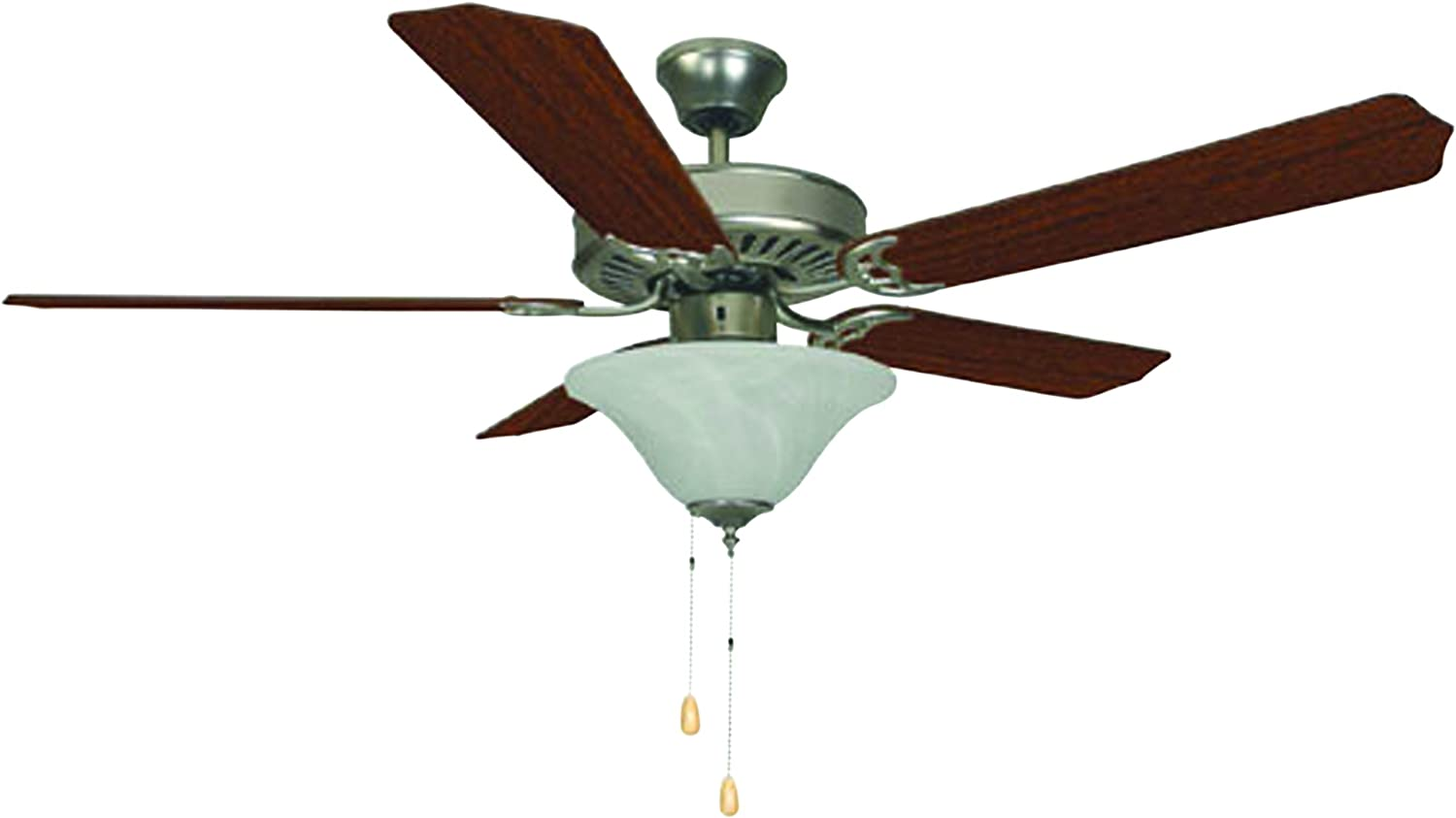 Bala 283014 2021 new Dual Mount Ceiling Fan Light Kit Bowl Max 77% OFF with 52-Inch