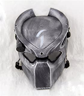 Gmask Alien Vs Predator Wolf Airsoft Led Light Paintball Mask NEW Replica