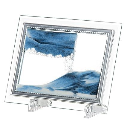 Amazon.com: daya fashion Sands Art Display,Moving Sand Glass Picture ...