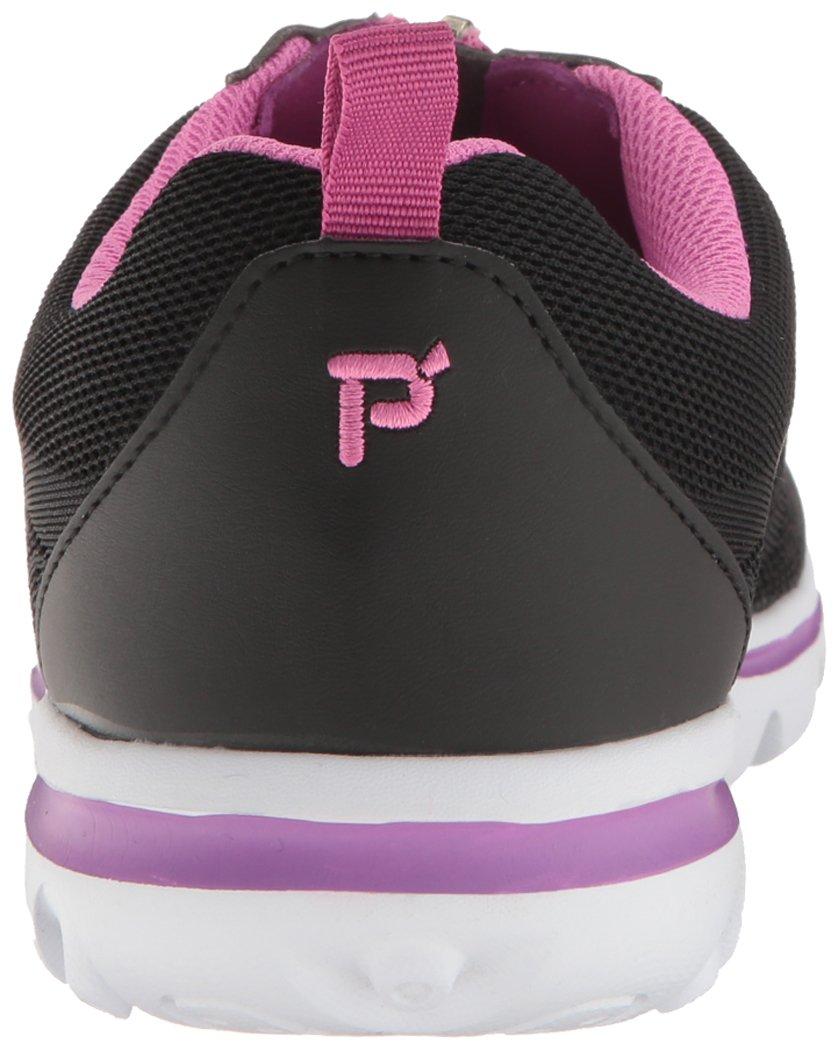 Propet Women's TravelActiv Zip Walking Shoe B01IODDEOI 9.5 2A US Black/Berry