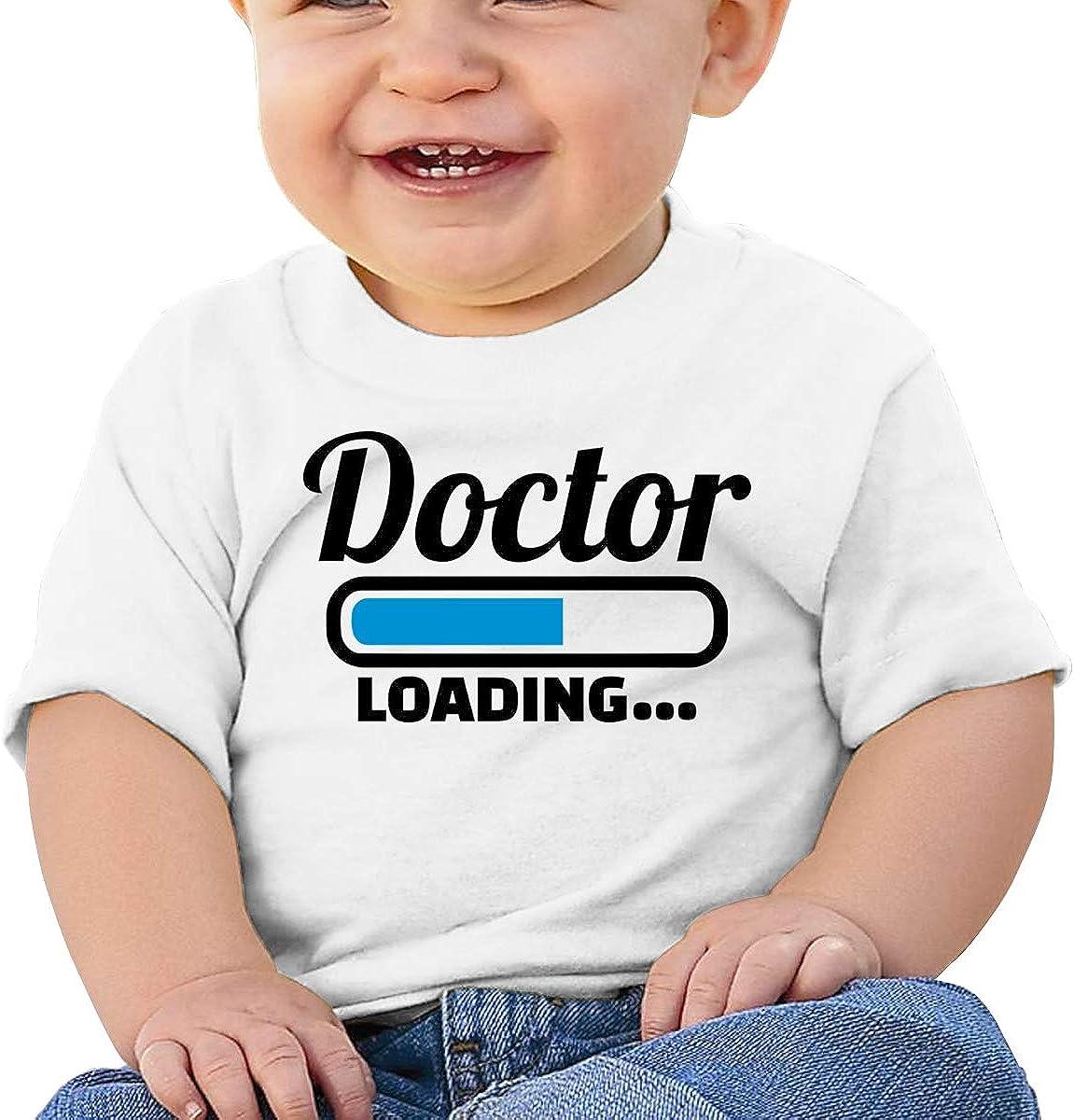 Negi Doctor Loading Cotton Toddler Girls Tshirt Short Sleeve