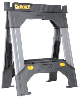 DEWALT Adjustable Metal Legs Sawhorse-DWST11031 - The Home Depot