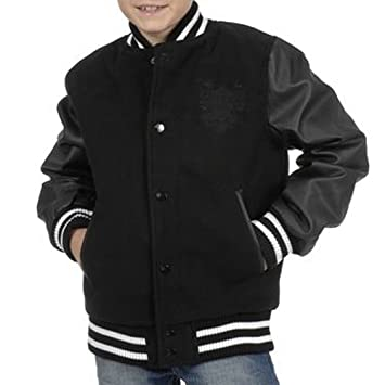 e71dcd1641c00 SRK-Blouson teddy garçon 10/16 ans ECORTED1016- Noir-10 ans: Amazon ...