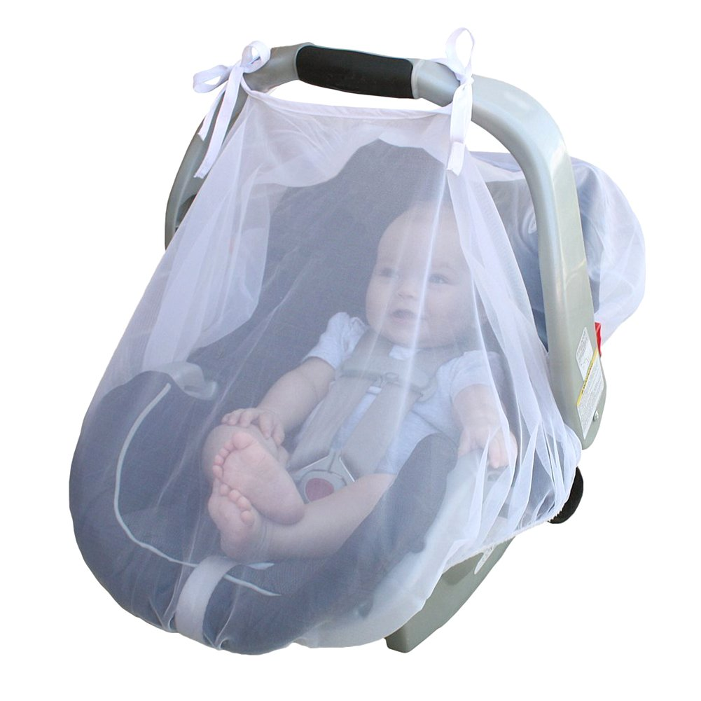 Per Mosquito Net Breathable Bug Protection Canopy Universal Fit For Car Seat Baby Carriage Stroller