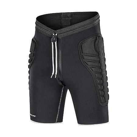 LHKAVE Compresión Acolchada para Hombre Pantalones Cortos ...