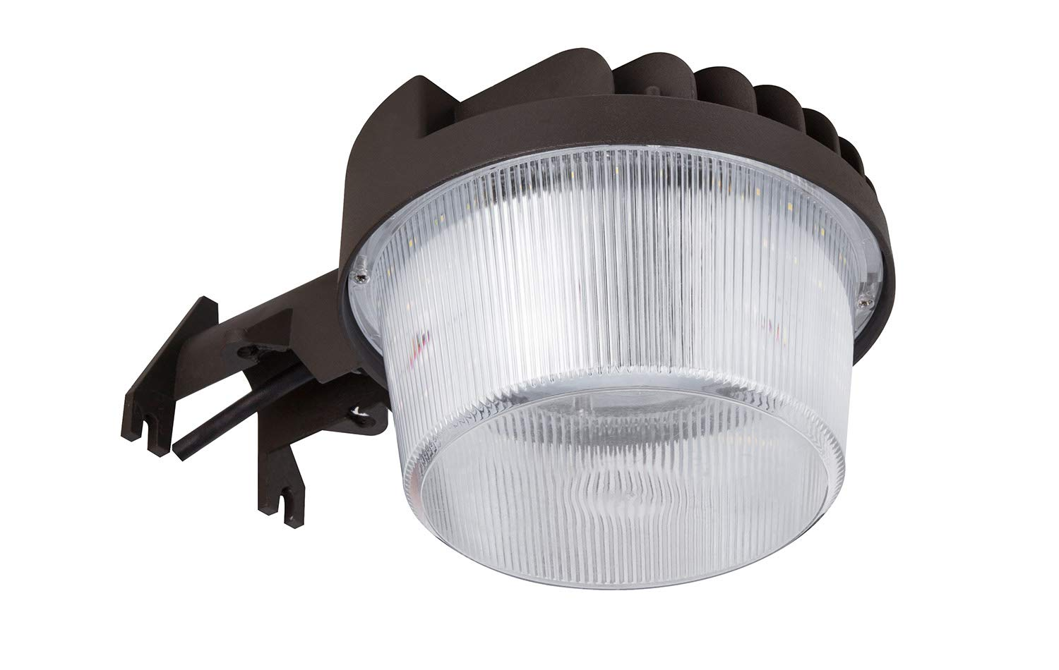 NEOX LED Area Light 40 Watts Dusk to Dawn Photocell Included, Yard Light or Barn Light, 3699 Lumens, 3000K (Warm White), ETL and DLC Listed, mounting arm not Included