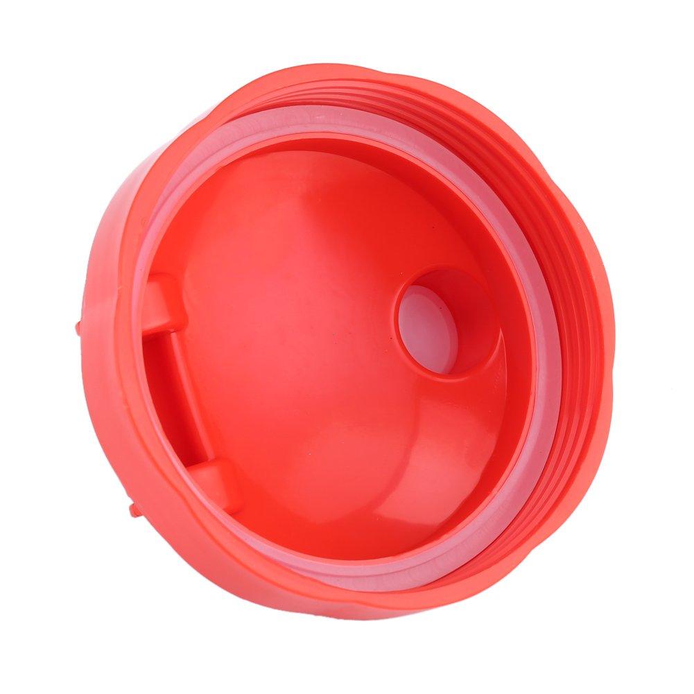 Sceller Flip Top To-Go Lid Juicer Pi/èces de Rechange Presse-agrumes Tasses et accessoires pour 600W 900W Blender red