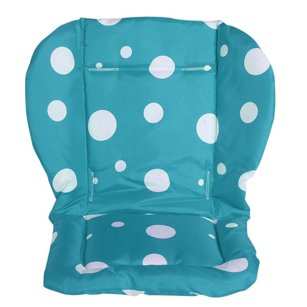 Amazingdeal Baby Stroller Pad Thicken Dot 600D Oxford Cloth Chair Cushion Car Seat Pad by