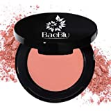 BaeBlu Organic Blush 100% Natural Pressed Mineral Powder, Made in the USA, Dusty Rose